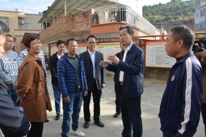 王土瑞到长坡、曹江、大坡镇调研村级换届、脱贫攻坚和乡村振兴工作