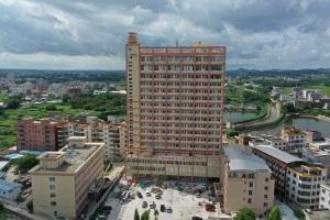 石鼓镇中心卫生院升级项目建设今年底前完成